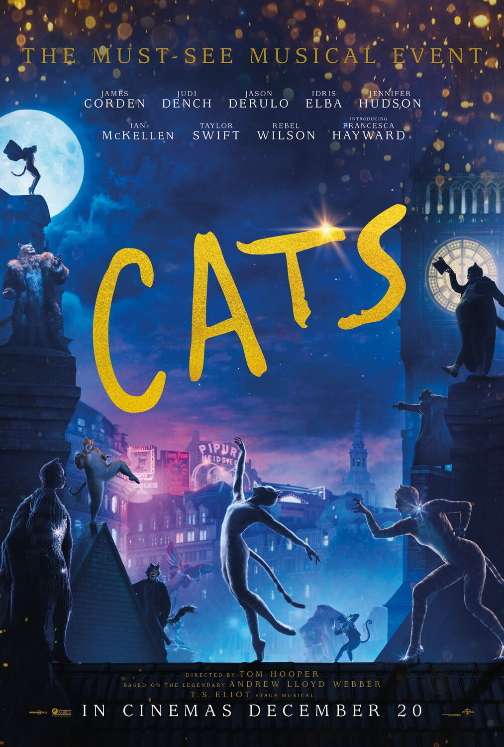 Cats - the movie (Callum Au arrangement)
