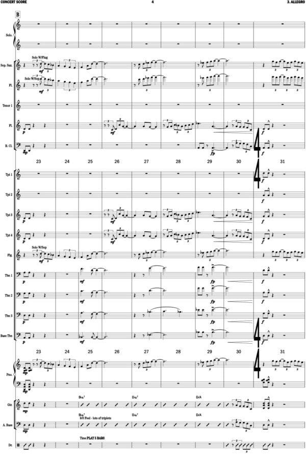 Bach Keyboard Concerto Mvt 3