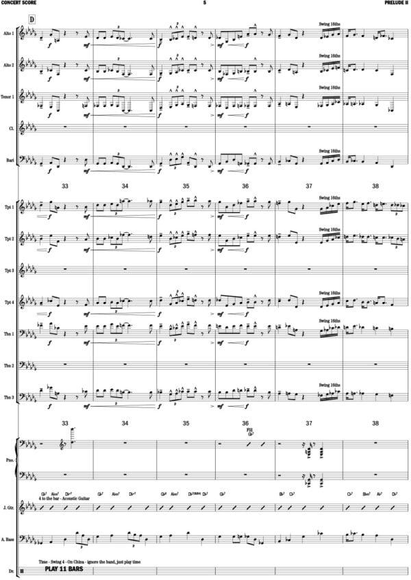 Gershwin Prelude II