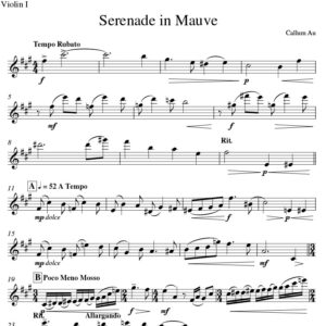 Serenade in Mauve