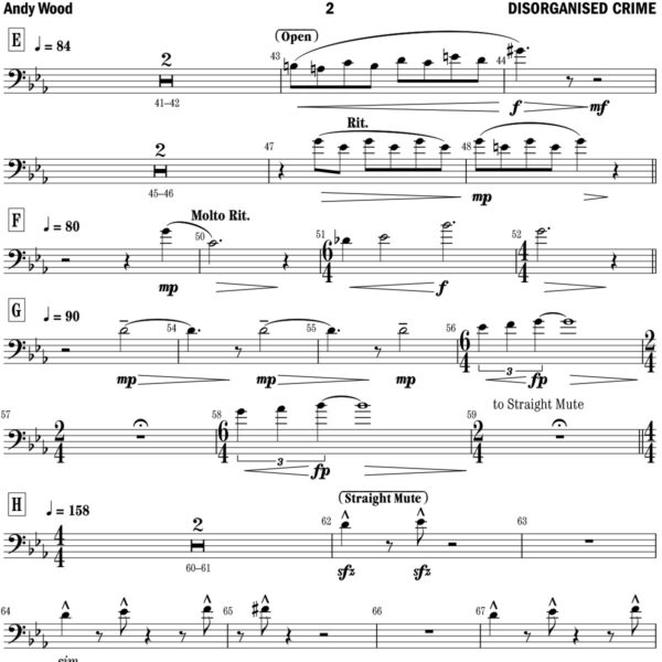 Callum Au sheet music