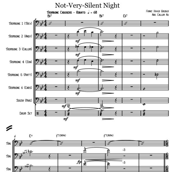 Callum Au - Not Very Silent Night